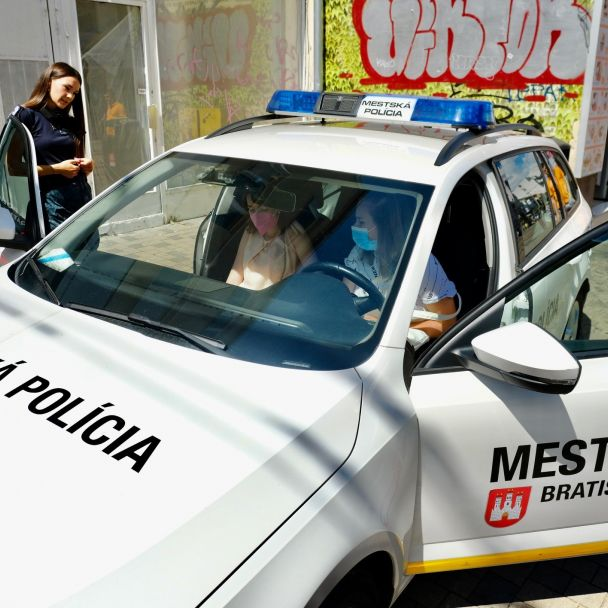 Bratislavské mestské dni Útvar zásahovej jednotky a kynológie