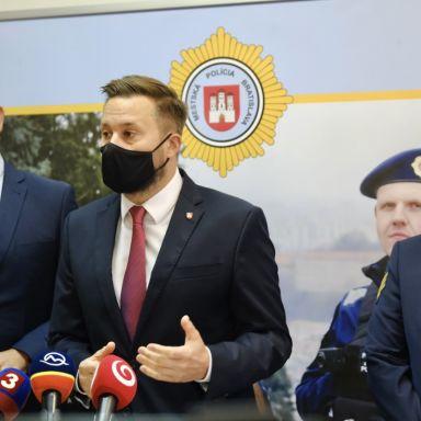 Otvorenie operačného centra Mestskej polície Bratislava