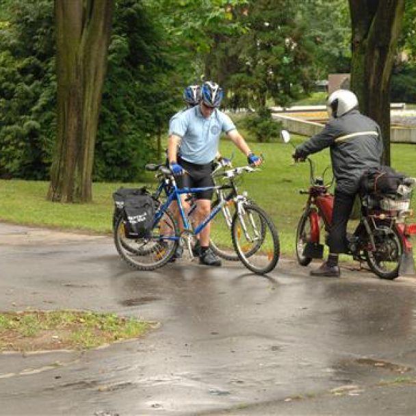 Mestskí policajti na bicykloch