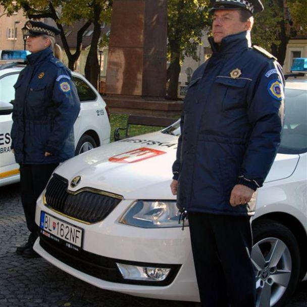 Nové vozidlá pre mestskú políciu
