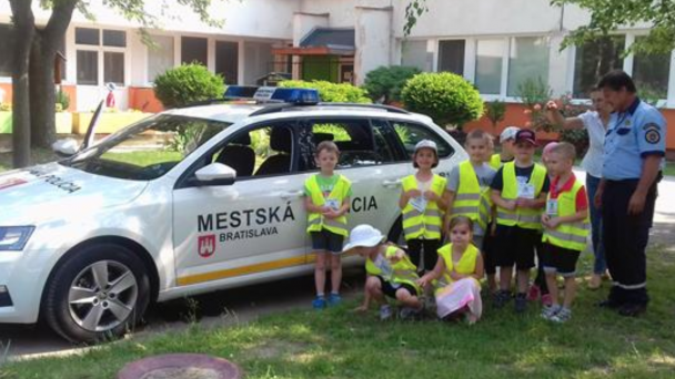 Deň detí s mestskou políciou